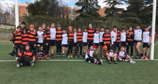 Sábado de rugby para los equipos de la escuela